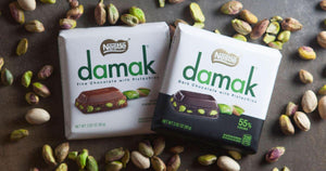 Nestle Damak Milk Chocolate Bar w Pistachio / Antep Fistikli Cikolata 65 Gr - Turkish Food Basket