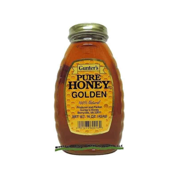 Gunter's Pure Honey Golden 454 Gr - Turkish Food Basket