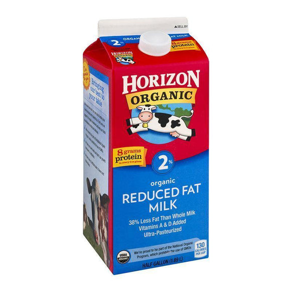 Horizon Organic %2 Milk / Sut Fat 1.89 L - Turkish Food Basket