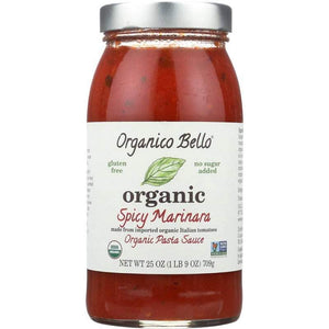 Organic Bello Spicy Marinara 709 Gr