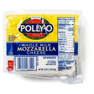 Polly-O Whole Milk Mozzarella Cheese - 16 oz
