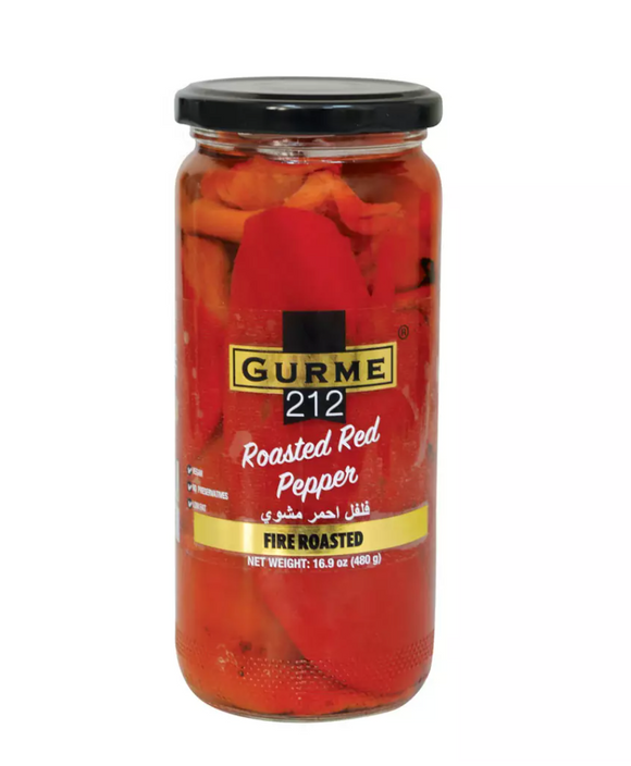Gurme 212 Roasted Red Pepper 500Cc Glass