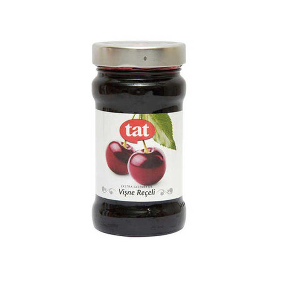 Tat Extra Traditional Sour Cherry Jam / Geleneksel Visne Receli 380 Gr - Turkish Food Basket
