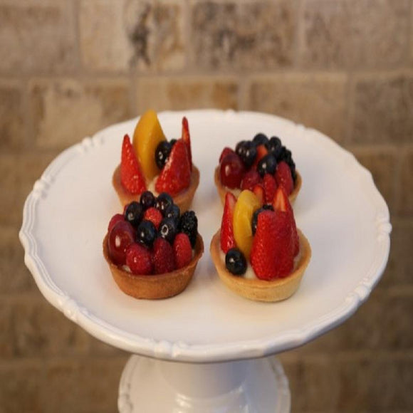 mini fruit tarts dozen turkish bakery pastry