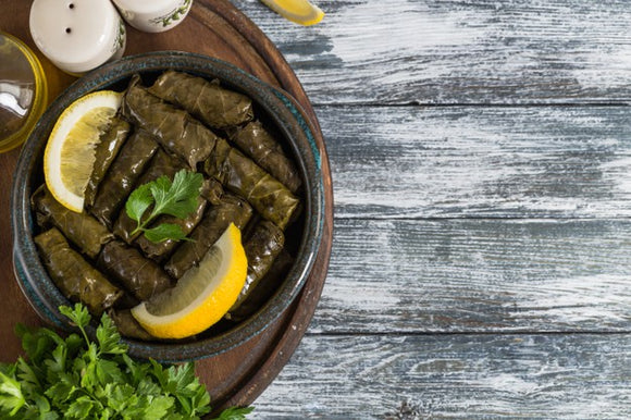 Stuffed Grape Leaves / Porsiyon Etli Yaprak Sarma ( 1 Portion )
