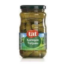 Tat Cornichon Pickles / Kornison Tursu 720 Ml - Turkish Food Basket