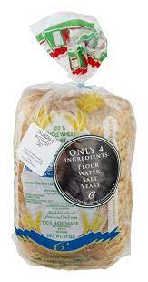 Whole Wheat Toast Bread - 21oz Pack
