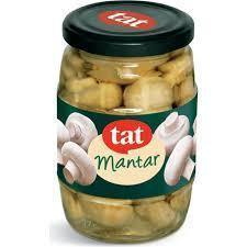 Tat Mushroom Jar / Mantar Cam 340 Gr - Turkish Food Basket