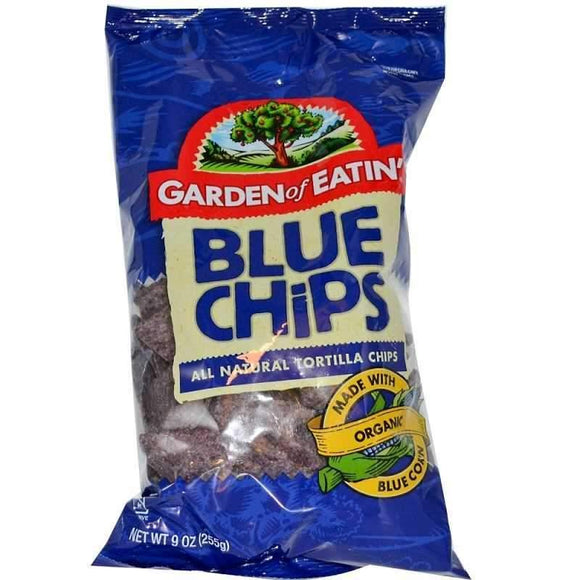 garden of eatin' blue corn tortilla chips mavi misir tortilla cipsi turkish food basket turk yemek sepeti