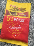 Ulker Cikolatali Gofret / Chocolate Wafers 5 Packages Shareable 180 Gr
