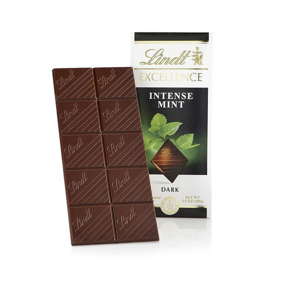 Lindt Excellence Intense Mint Dark Chocolate