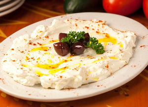 Labneh Appetizer 6 Portions / Lebni ( 6 Kisilik) - Turkish Food Basket