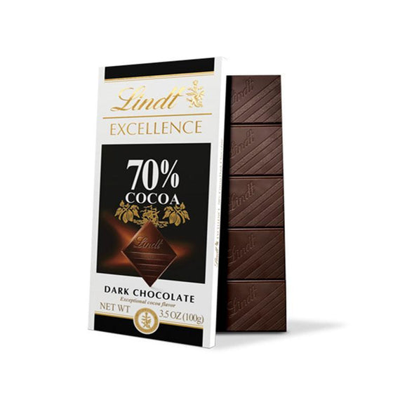 Lindt Excellence 70% Cocoa Dark Chocolate / Bitter Cikolata