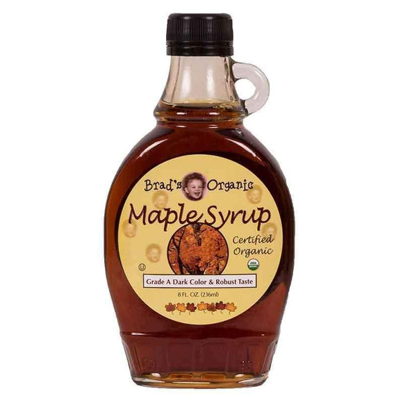 Brad's Organic Maple Syrup Grade A Dark Color & Robust Taste