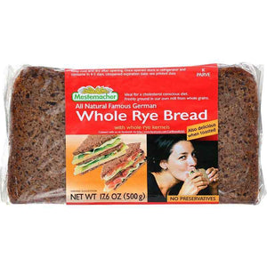 Mestemacher Whole Rye Bread 500 Gr