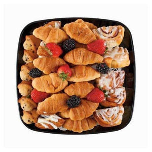 mini breakfast pastry platter bakery sweet