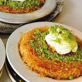 mado handmade kunefe with cheese turkish food