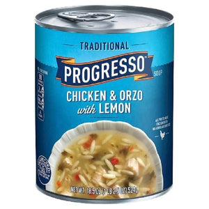 progresso chicken and orzo with lemon soup sehriyeli tavuklu limonlu corba corbasi hazir corba konserve canned goods turkish food basket turkish cuisine turk gida sepeti turk yemegi turk mutfagi online shopping delivery internetten alisveris eve teslimat