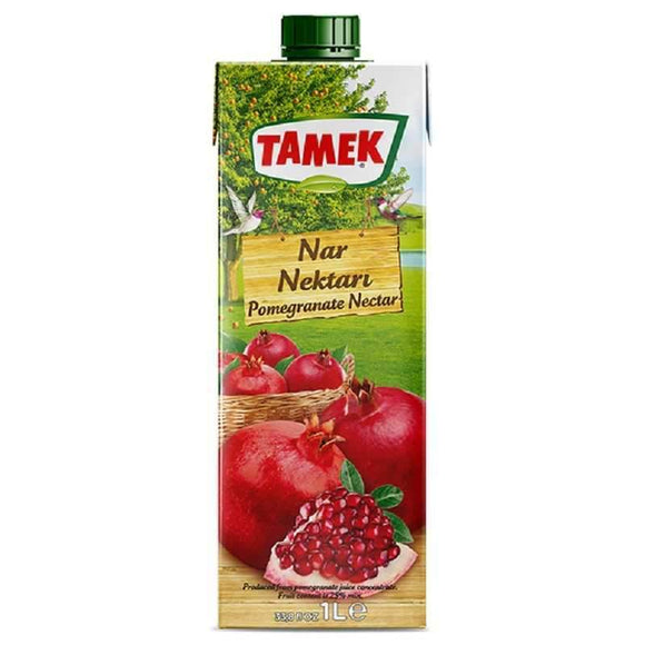 tamek pomegranate nectar drink nar nektari suyu fruit juice meyve suyu beverages turkish food basket turk yemek sepeti online online shopping delivery internetten alisveris eve teslimat