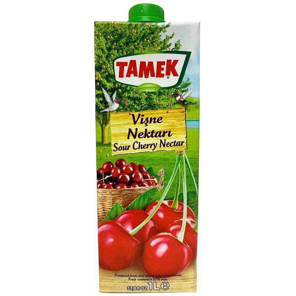 tamek sour cherry nectar visneli meyve suyu fruit juice meyve suyu beverages turkish food basket turk yemek sepeti online online shopping delivery internetten alisveris eve teslimat