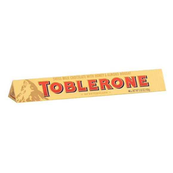 Toblerone Swiss Milk Chocolate with Honey