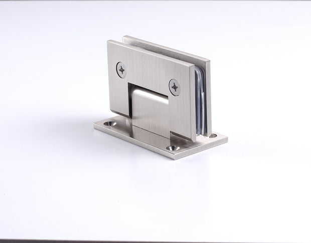 Wall to Glass Hinge - Regular Glass