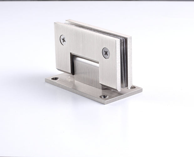 Wall to Glass Hinge - Heavy Glass
