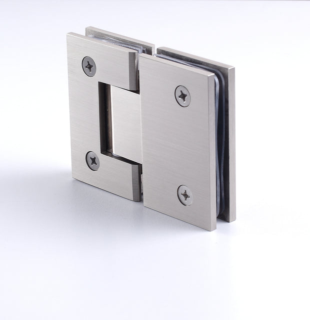 180 Degree Glass-to-Glass Hinge - Heavy Glass