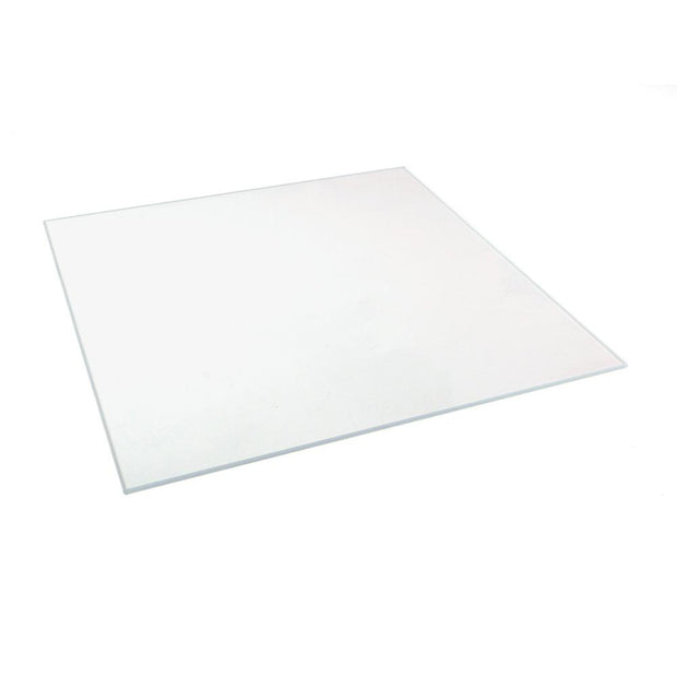 "*Low Iron* - 3/8"" Thick Sheet of Regular Float Glass - 84"" x 130"" - Case of 12"