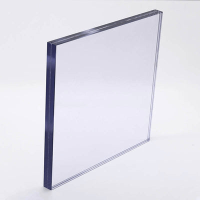 "1/2"" Low Iron Custom Laminated Glass: Tempered + Laminated"