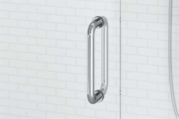 "*Low Iron* 3/8"" Thick Regular Shower Door - 28"" Wide; Multiple Lengths"