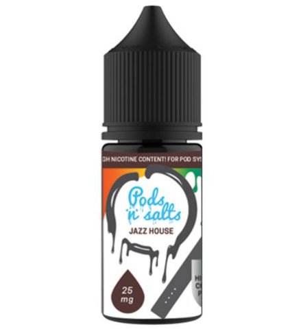Pods and Salts Jazz House - East End Vapes