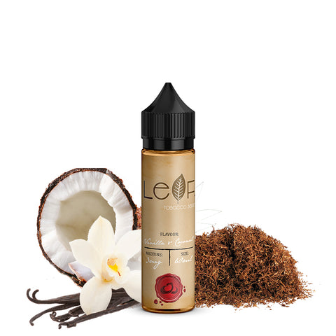 Cloud Flavour LEAF Vanilla And Coconut - East End Vapes