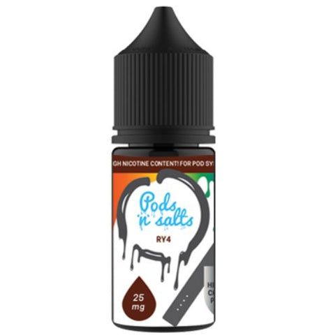 Pods and Salts RY4 - East End Vapes