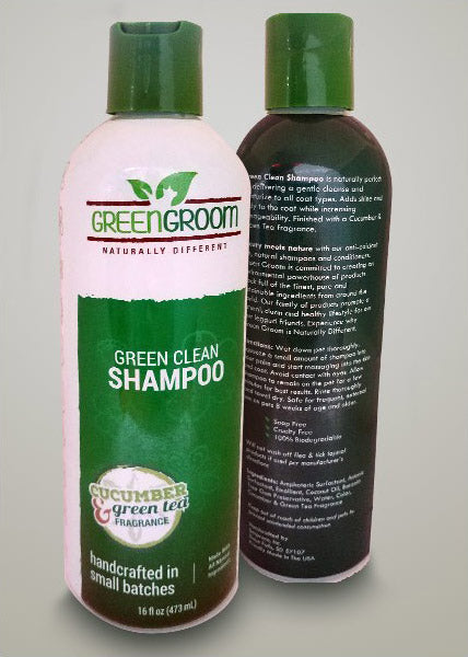 Green Groom Green Clean Shampoo