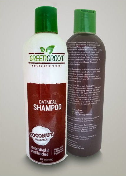 Green Groom Oatmeal Shampoo