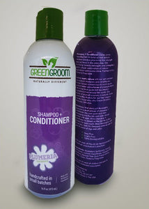 Green Groom Shampoo + Conditioner