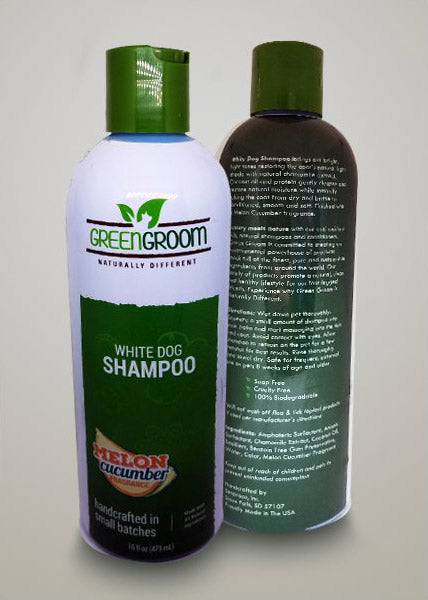 Green Groom 'White Dog' Shampoo