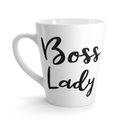 Boss Lady Latte mug