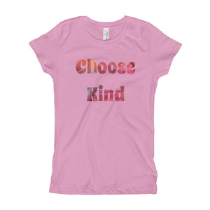 Choose Kind Girl's T-Shirt