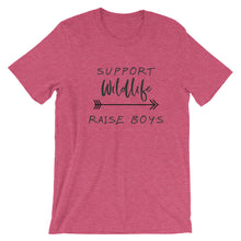 Support Wildlife Raise Boys (Black Text)