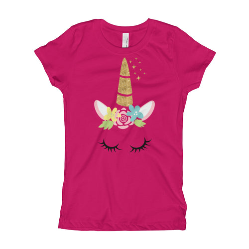 Unicorn Girl's Tee