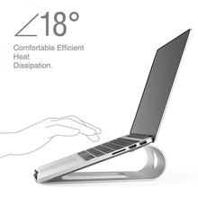 Load image into Gallery viewer, Ergonomic Aluminum Stand for MacBook
