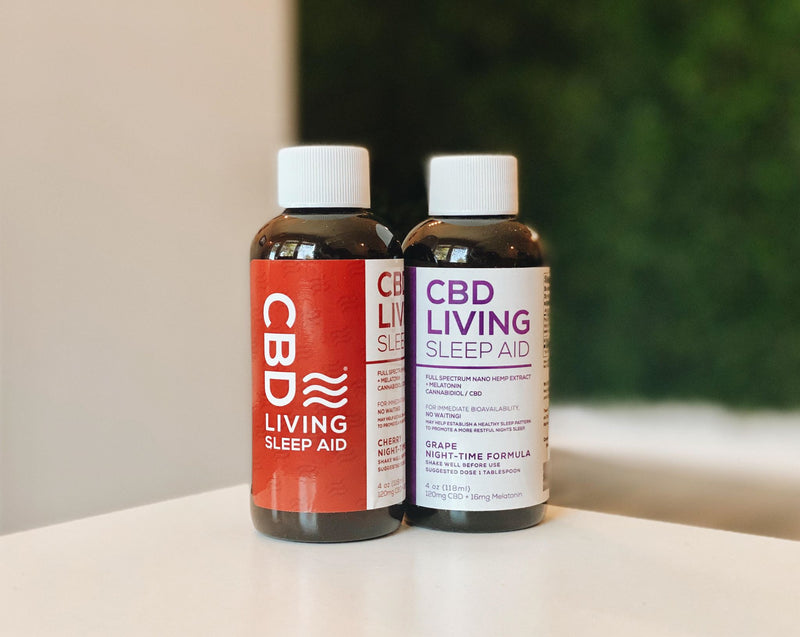 CBD Living Sleep Syrup