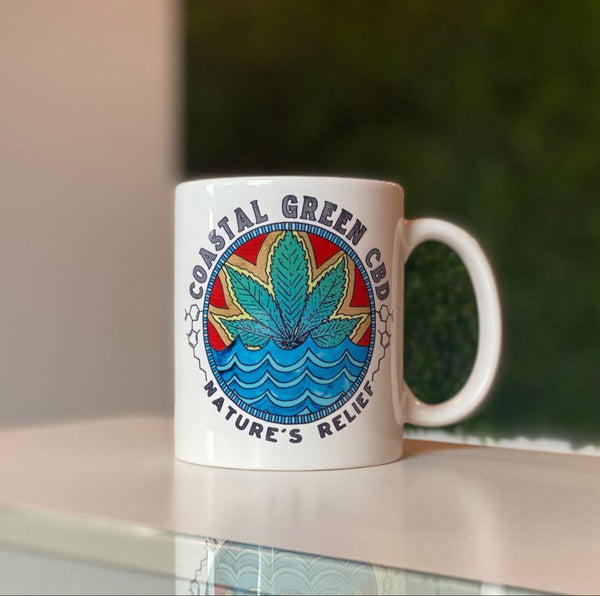 Coastal Green Wellness Coffee Cup