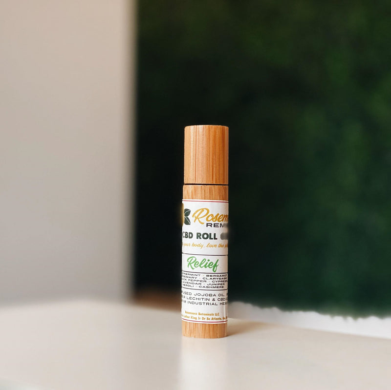 ROSEMAN'S Remedies Essential Oil Roll On (100mg)