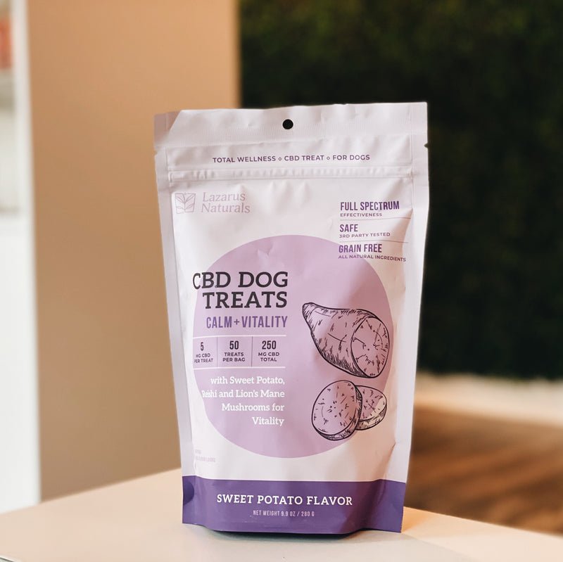CBD Dog Treats Lazarus