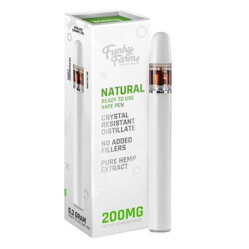 Funky Farms Natural CBD Disposable Vape Pen 200mg