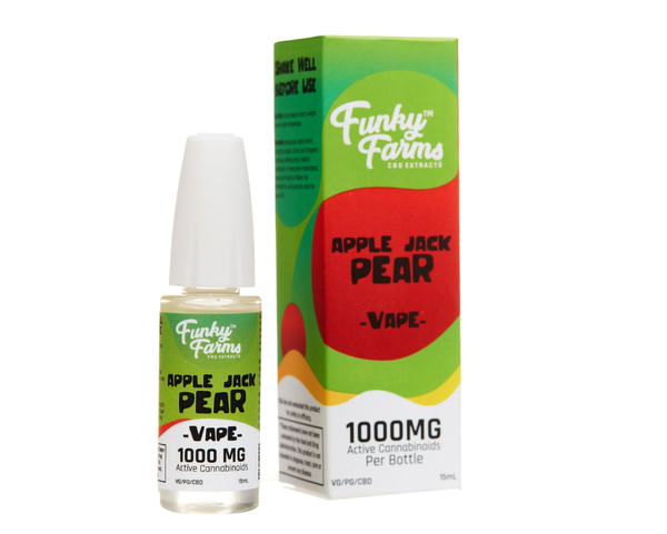 Funk Farms Apple Jack Pear CBD Vape Juice