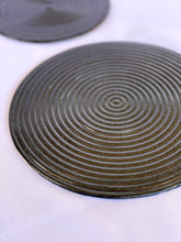 Load image into Gallery viewer, Graphite Ondas Serving Plates Set